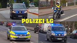 Einsatzfahrten der Polizei in Lüneburg