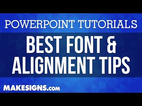 What are the best fonts to use for a presentation?