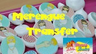 Video receta - Tutorial - Merengue transfer