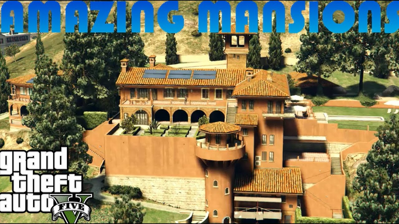 5 More Amazing Mansions in GTA 5 YouTube