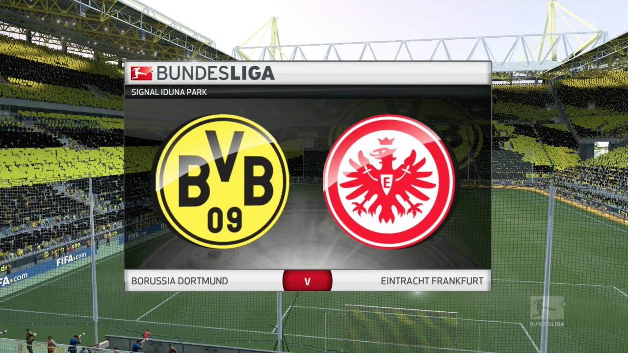Fifa 16 Borussia Dortmund Vs Eintracht Frankfurt