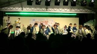 福井大学よっしゃこい2013年度演舞「夢光咲」 むこうへ 仁愛大学祭「世...