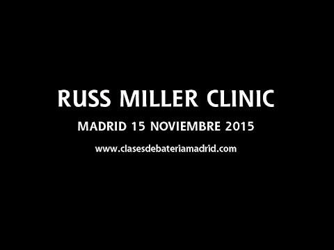 Clinic de Russ Miller en Madrid