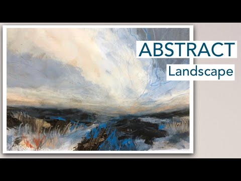 SEMI ABSTRACT Landscape Painting Demonstration | Acrylics