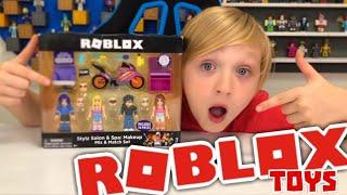 STYLZ SALON & SPA: Makeup Mix & Match Set/ UNBOXING #RobloxToys from Jazwares Toys