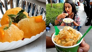 pani puri indian street food