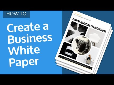 How to Design a Business White Paper [WHITE PAPER EXAMPLE & DESIGN TIPS]
