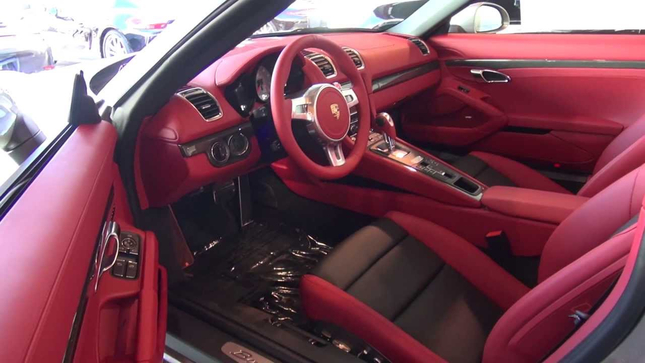 2013 porsche boxster s 981 platinum silver on carrera red available now porscheconnect youtube