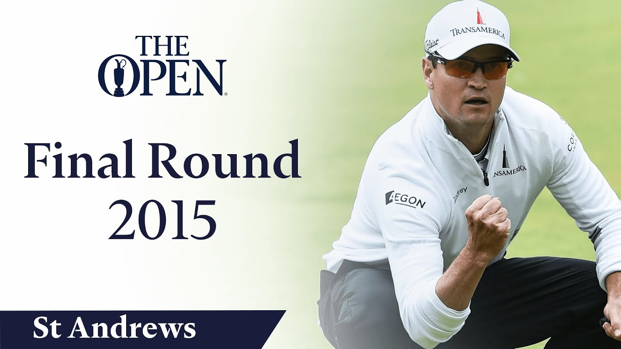 Zach Johnson - Final Round in full | The Open at St Andrews 2015