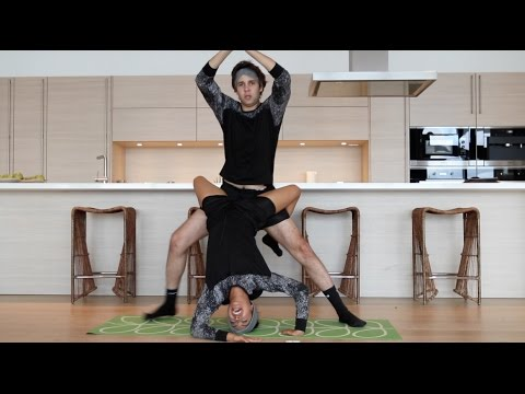 Thumbnail: COUPLES YOGA CHALLENGE!!