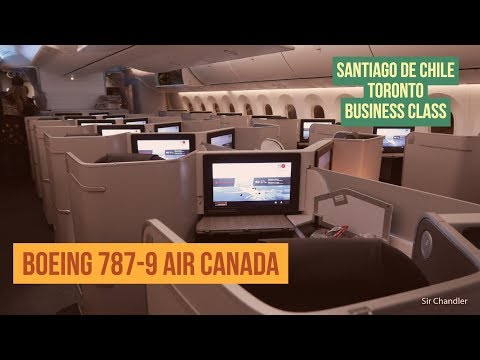 Boeing 787 Air Canada Toronto - Business class