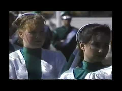 1991 Thousand Oaks High School Lancer Band and Colorguard Highlights Video