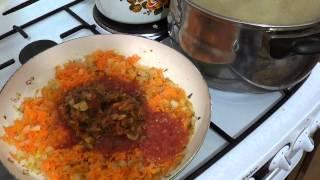 Капустняк из квашеной капусты(Смотрите рецепт, как приготовить вкусный капустняк из квашеной капусты. В рецепте используется: Бульон..., 2013-11-10T21:30:14.000Z)