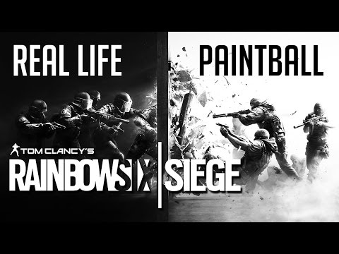 Real Life Rainbow Six: Siege ► Paintball Edition |