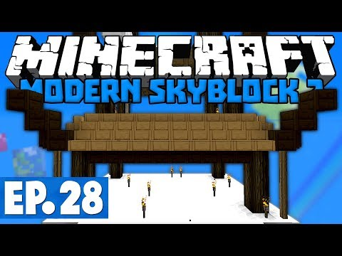 Minecraft Modern Skyblock 2 - Pagoda In Progress! #28 [1.12.2 Modded Skyblock]