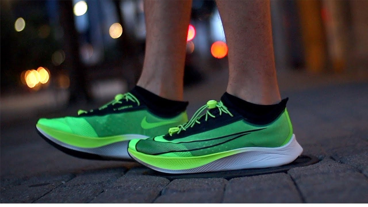 Nike Zoom Grey And Green Nike Zoom Fly 3 Review The Good The Bad The Hype