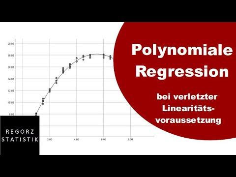 Polynomiale Regression Bei Verletzter Linearitätsannahme (multiple Regression)