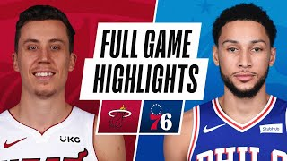 HEAT at 76ERS | FULL GAME HIGHLIGHTS | January 14, 2021