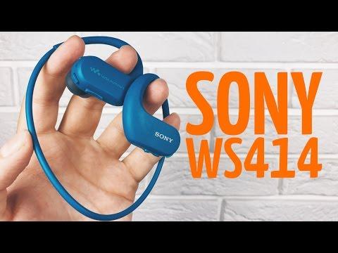 Обзор водонепроницаемого плеера Sony WS414