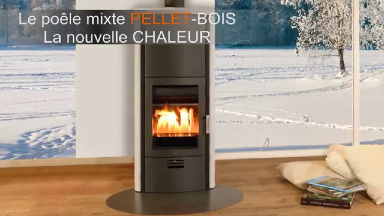 po le mixte pellets max blank mod le toulouse sp youtube. Black Bedroom Furniture Sets. Home Design Ideas