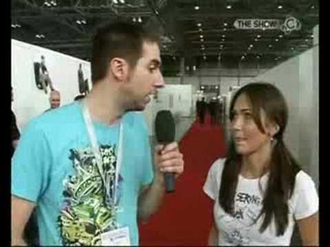 GIGA The Show: Interview mit Jessica Chobot