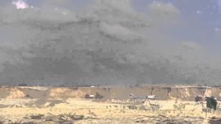 قناة السويس الجديدة : مشهد عام للحفر  6 نوفمبر 2014