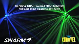 Swarm 4: flood the dance floor with color and moving light