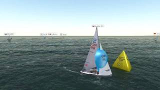 Open Virtual 470 World FINAL race in Sail Simulator 5