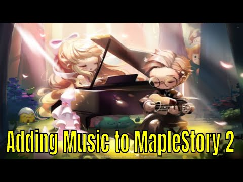 Maple Story 2: Putting your own music into the game