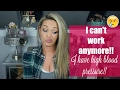 I HAVE HIGH BLOOD PRESSURE! Out Of Work| Is Baby Coming EARLY? 36 Weeks Pregnant| Tres Chic Mama
