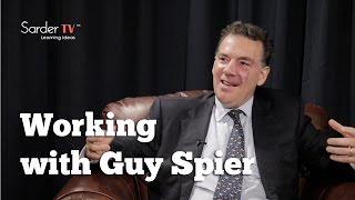 Tell us about working with Guy Spier by William Green, Author of The Great Minds of Investing