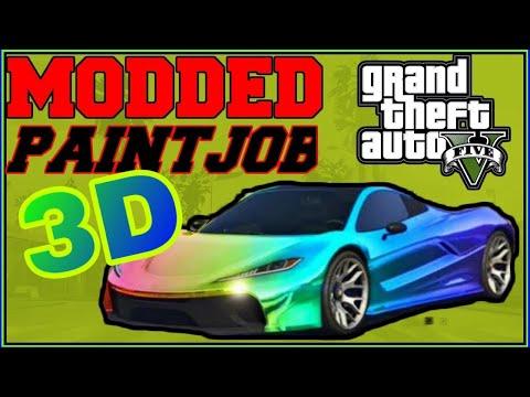 **MODDED PAINT GLITCH *SOLO* 3D Paint Job (GTA 5)