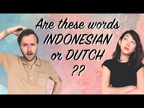 How Similar Are Dutch And Indonesian? | Comparing Our Languages (Indonesian-Dutch-English Subs)