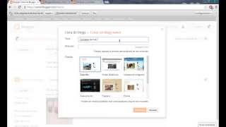 Repeat youtube video Como hacer un blog - blogspot - blogger 2014 - 2015