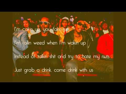 Wiz Khalifa - Talkin Bout feat. Juicy J & Chris Brown {Lyrics}