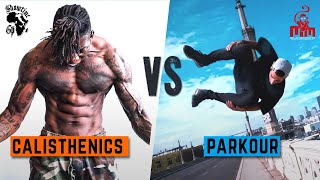 CALISTHENICS VS PARKOUR 🔥 Street Gorilla Battle