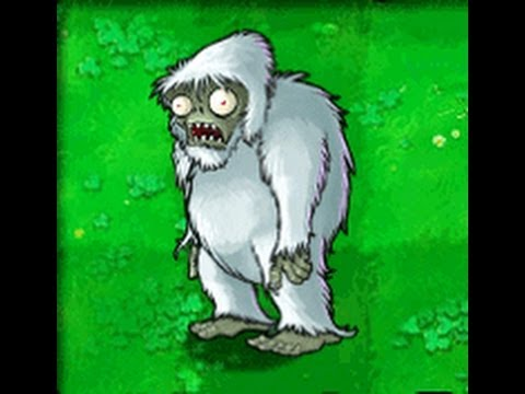 Plants Vs Zombies Discovering the Yeti Zombie!