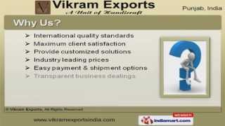 Wooden Decorative & Handicraft Items By Vikram Exports, Patiala