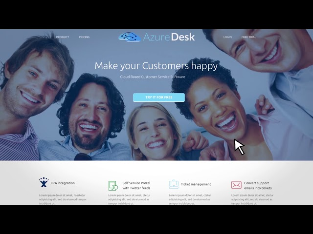 Ticket System for Customer Support - Azuredesk
