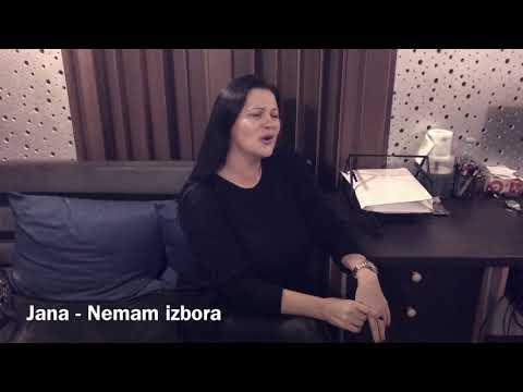 Jana - Nemam izbora (DEMO) NOVO - 2017