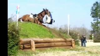 Подборка падений с лошадей, horse fails