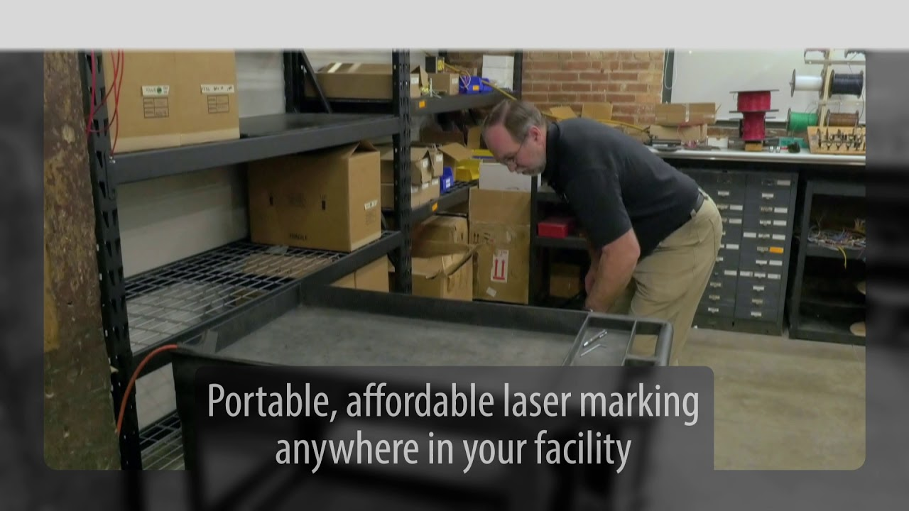 All-In-One Fiber Laser Marking Unit Integrated into Portable System