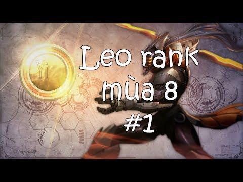 VuxCow LoL | Master Yi Leo Rank Mùa 8 #1
