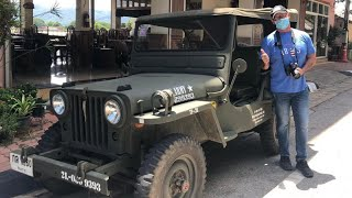 My Ride in a US Army 1950 Jeep at the Golden Triangle Thailand