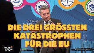 Hazel Brugger hat eine wichtige Frage an Günther Oettinger