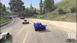 GTA Racing Inc.: 2 laps left lead to a 6 way battle for the win!