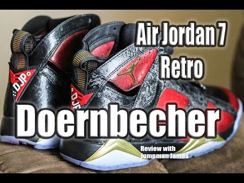 Air Jordan 7 Doernbecher Review with Jumpman James