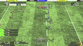 Rugby 15 Gameplay Leinster vs Munster (Side-View)