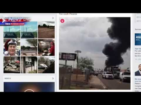 FNN: Massive Phoenix Hazmat Fire Coverage, Family Reacts to Freddie Gray Settlement