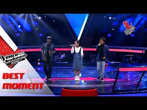 Samuel & Yonathan & Chiko  The Voice Kids Indonesia Season 2 GTV 2017